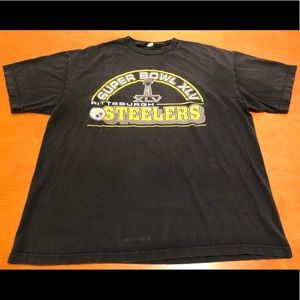 Other - Superbowl XLV Pittsburgh Steelers Black Yellow Xxl